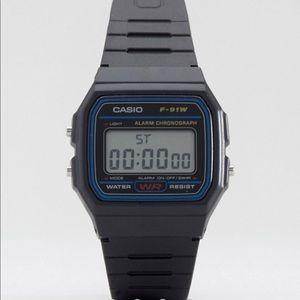 Casio F-91W-1XY classic digital watch